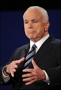 الجمهوري جون ماكين في آخر مناظرة له 16-10-2008