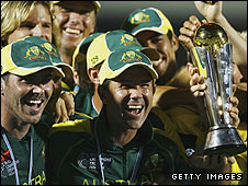 Australia won the 2006 Champions Trophy