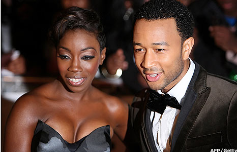 Estelle and John Legend