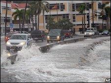 Waterfront of Charlotte Amalie, St Thomas, US Virgin Islands on 15/10/08