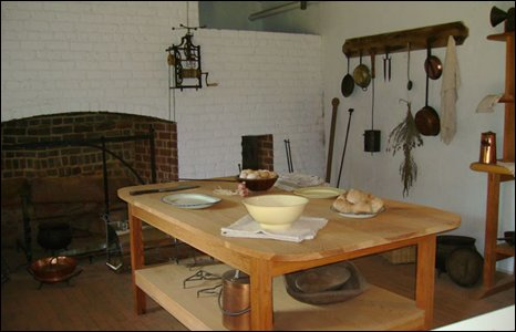The kitchen at Monticello