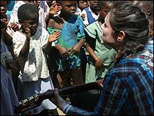 Sandi Thom in Malawi