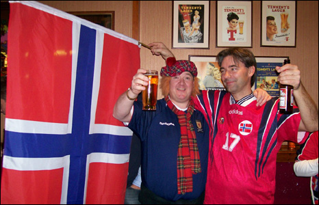 scotland and norway fan