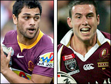 Karmichael Hunt and Darius Boyd