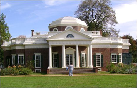 Monticello, President Jefferson's house