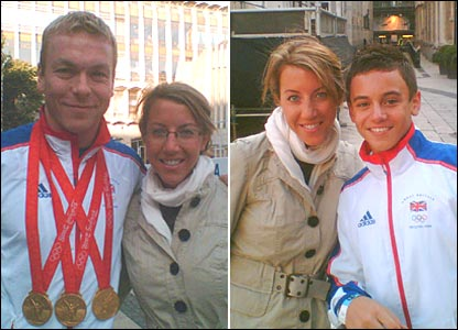 Chris Hoy, Lauren, Tom Daley