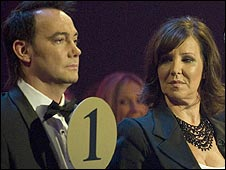 Arlene Phillips with Strictly co-judge Craig Revel Horwood