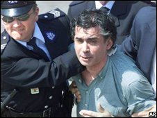 Juan Maria Fernandez y Krohn arrested in Fatima, Portugal 1982