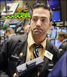 Wall Street trader 15 October