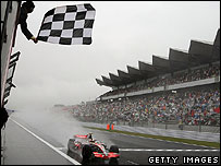 Lewis Hamilton takes another chequered flag