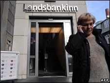 Landsbanki branch