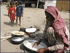 Slum in Karachi, Pakistan