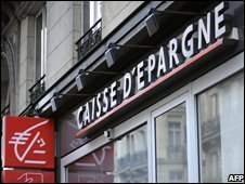 French bank Caisse d'Epargne