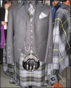 SNP tartan