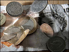 Notes and coins