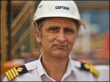 Copenhagen Express captain Sanjeev Kaushal