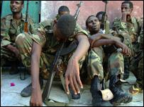 جنود صوماليون