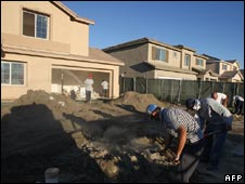 US homes being built