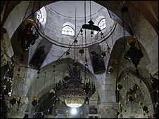 Dome of Chapel of St Helena, Church of Holy Sepulchre