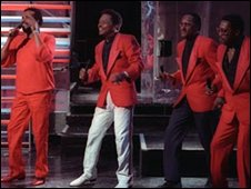 The Four Tops on Top of The Pops in 1988