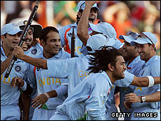 India win the ICC World Twenty20