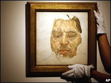 The Lucien Freud painting