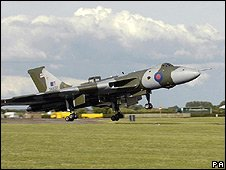 Vulcan at Waddington