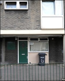 Block of flats in Lynch Walk, Deptford, east London, where a toddler was discovered home alone during a fire incident