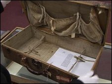 Millvina Dean's suitcase
