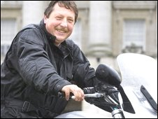 Sammy Wilson said he was taking the bike for a service before putting it though its MOT