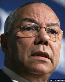 Colin Powell (file pic)