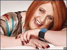 Peter Kay as Britain's Got The Pop Factor 'winner' Geraldine