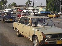 Calle en Cuba