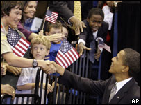 Барак Обама и избиратели