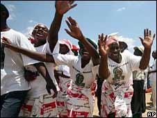 MDC rally in Masvingo, 19 October 2008