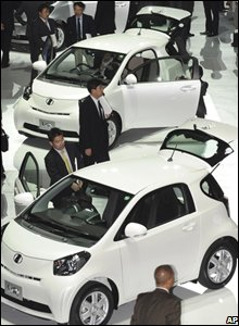 Car made by Japan's Toyota
