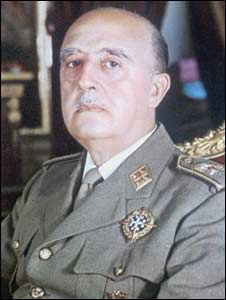 General Francisco Franco. Photo: 1969