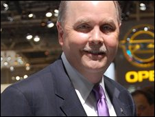 General Motors' chief financial officer Fritz Henderson