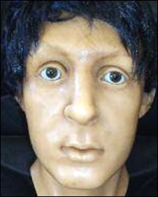 Paul McCartney wax head