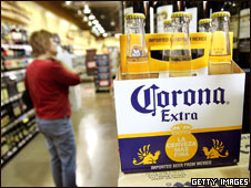 Corona beer six-pack