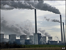 Coal-fired power plant in Gelsenkirchen, Germany