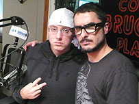 Eminem and Zane Lowe