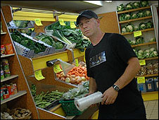 Phil Rolf, greengrocer