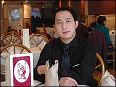 Eamon Tang, restaurant manager