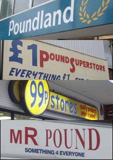Shop signs