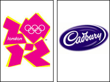 London 2012 has signed a sponsorship deal with Cadbury