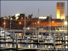 The port of Rabat