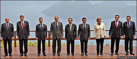 G8 leaders in Japan (Getty Images)