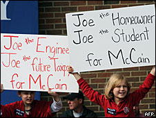 Young McCain supporters