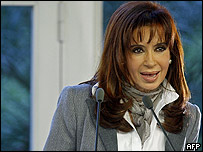 Cristina Fern�ndez